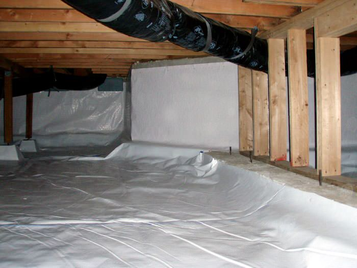 Delmarva Crawl Space Sealing In Dover Ocean Pines Easton