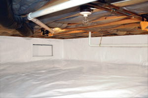 Crawl Space Repair After in Four Corners