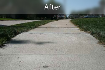 Fixing sunken concrete with PolyLevel® in Dover